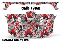 Camoplate für Yamaha UTV