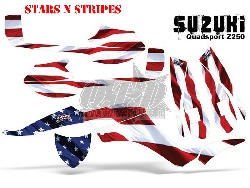 Stars N Stripes für Suzuki Quads