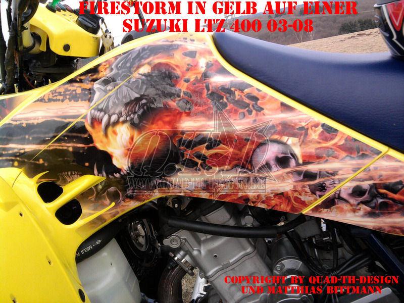 Firestorm für Suzuki Quads