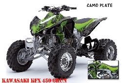 Camoplate für Kawasaki Quads