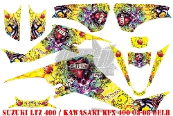 EdHardy - Love Kills für Kawasaki Quads