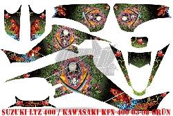 EdHardy - Pirates für Kawasaki Quads