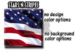 Stars N Stripes für Kawasaki Quads
