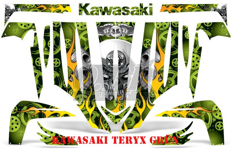 Motorhead für Kawasaki UTV