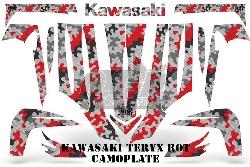 Camoplate für Kawasaki UTV