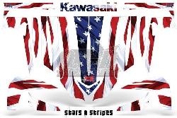 Stars N Stripes für Kawasaki UTV
