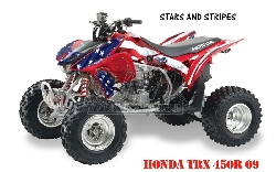Stars N Stripes für Honda Quads