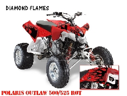 Diamond Flame für Polaris Quads