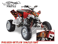 EdHardy - Pirates für Polaris Quads