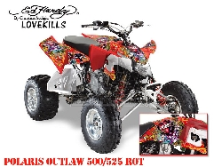 EdHardy - Love Kills für Polaris Quads