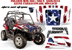 Stars N Stripes für Polaris UTV