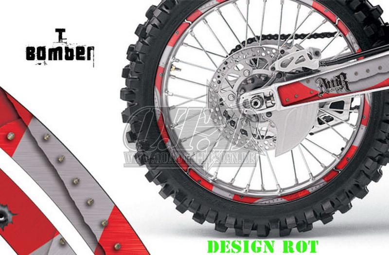 1. Designs für die Felgen/Rims der MX Dirt Bikes