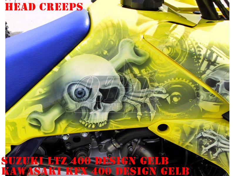Head Creeps für Suzuki Quads