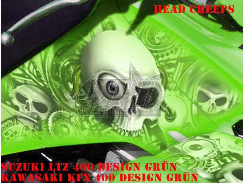 Head Creeps für Kawasaki Quads