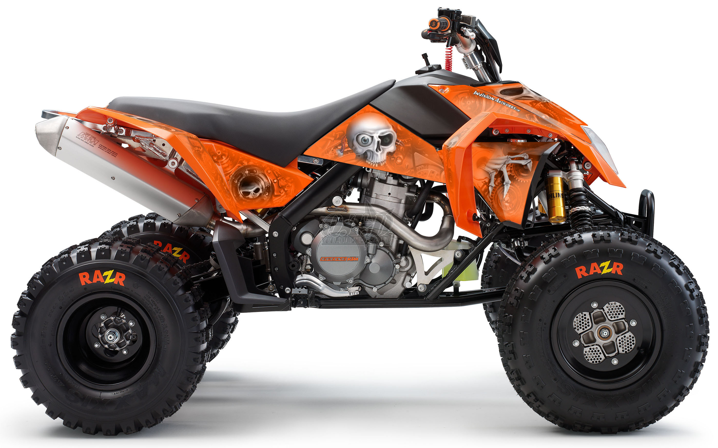 Head Creeps für KTM Quads