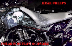 Head Creeps für Polaris Quads