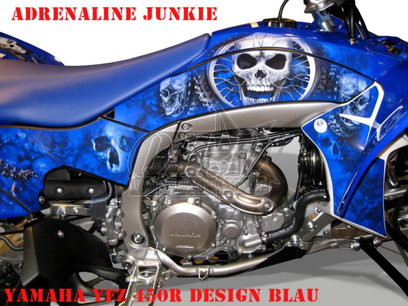 Adrenaline Junkie für Yamaha Quads