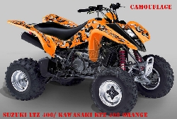 Camo für Kawasaki Quads