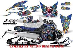 3. Ed-Hardy Designs für Yamaha Schneemobile