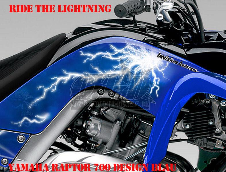 Ride the Lightning für Yamaha Quads