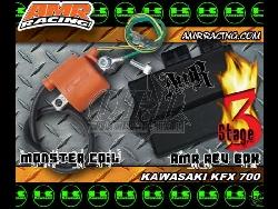 AMR CDI Stage3 und Monster Coil für Kawasaki KFX700