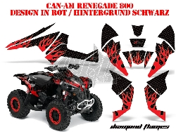 Diamond Flame für CAN-AM Quads