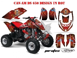EdHardy - Pirates für CAN-AM Quads