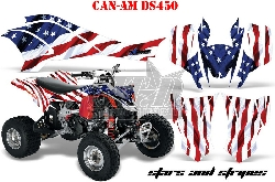 Stars N Stripes für CAN-AM Quads