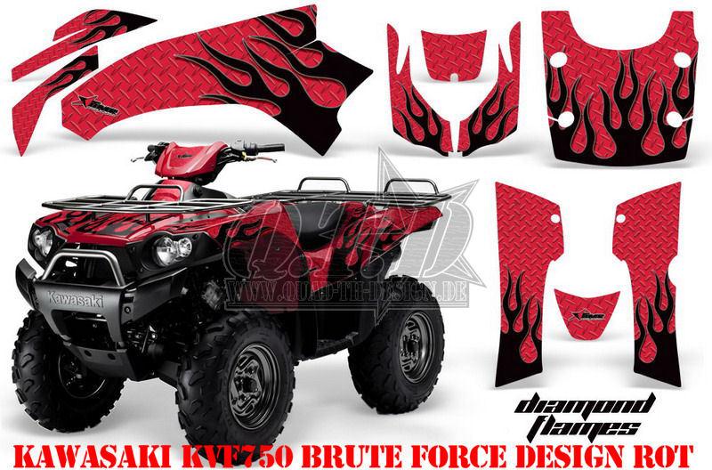 Diamond Flame für Kawasaki ATV