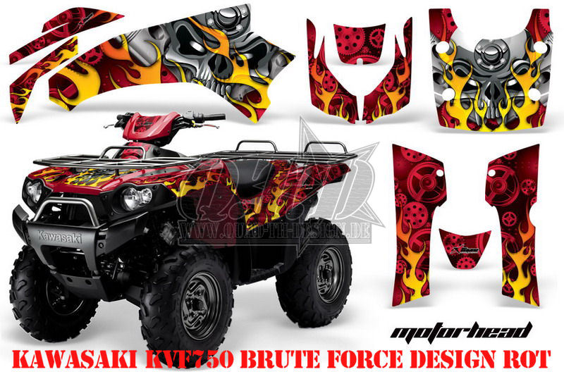 Motorhead für Kawasaki ATV