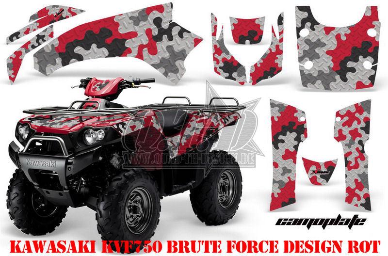 Camoplate für Kawasaki ATV