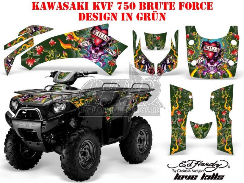 EdHardy - Love Kills für Kawasaki ATV