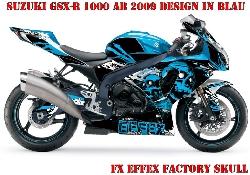 FX - Factory Effex Skull für Suzuki Sport Bikes