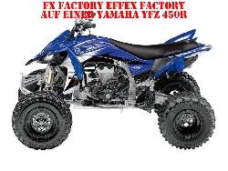 FX - Factory Effex Factory für Yamaha Quads in Blau