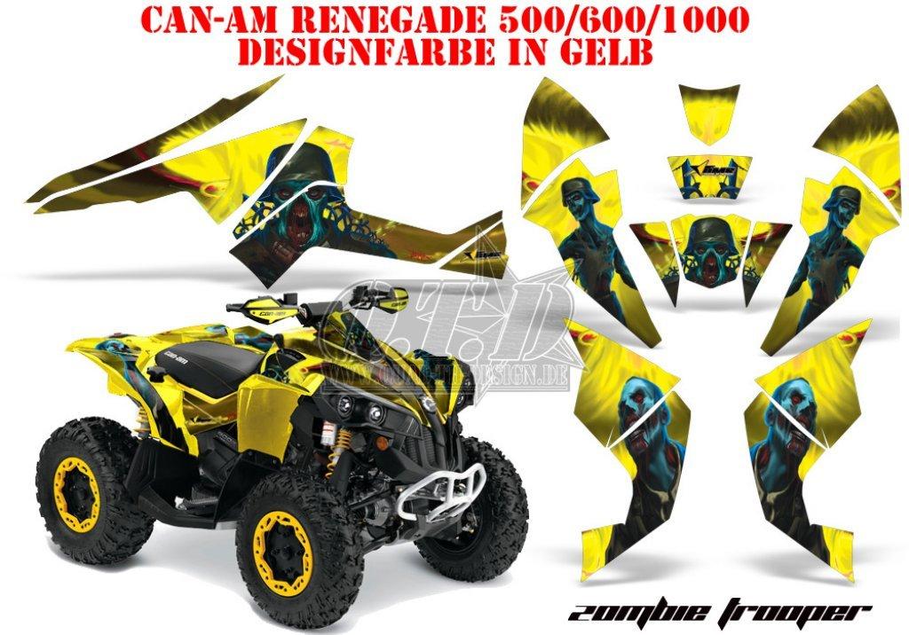 Sonderpreis: Zombie Trooper für CAN-AM Renegade in Gelb