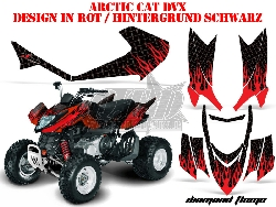Diamond Flame für Arctic-Cat Quads