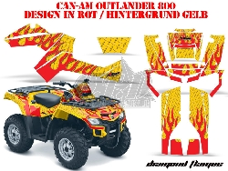 Diamond Flame für CAN-AM ATV