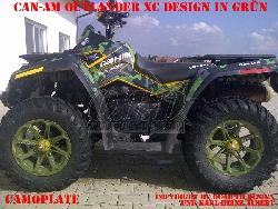 Camoplate für CAN-AM ATV