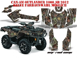 Real Camo Designs für CAN-AM ATV