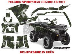 Camoplate für Polaris ATV