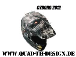 Helm Skin Cyborg 2012