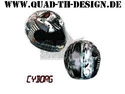 Helm Skin Cyborg 2012 Onroad