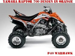 War Machine für Yamaha Quads
