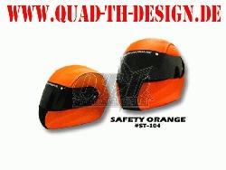 Helm Skin Safty Orange