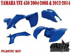 Polisport Komplett Verkleidung für Yamaha YFZ 450