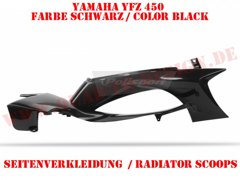Seitenverkleidung für Yamaha YFZ 450