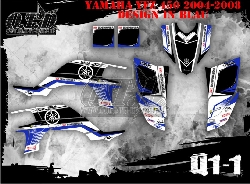 Yamaha Logo Q1 für Yamaha Quads