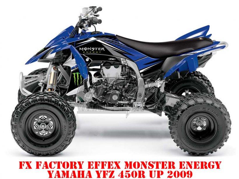 Sonderpreis: FX - Factory Effex Monster Energy für Yamaha YFZ 450R ab 2009 Lagerware