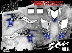 S Cube Dekor für Yamaha YFZ Quads