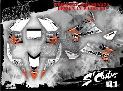 S Cube Dekor für KTM Quads